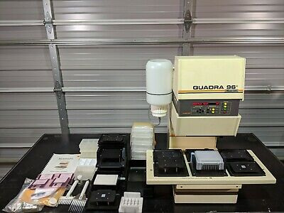 Tomtec Quadra 96 Model 320 6-station Automated Shuttle 196-320 With Software