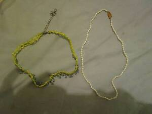 2 X Necklaces ***BRAND NEW*** Campbell North Canberra Preview