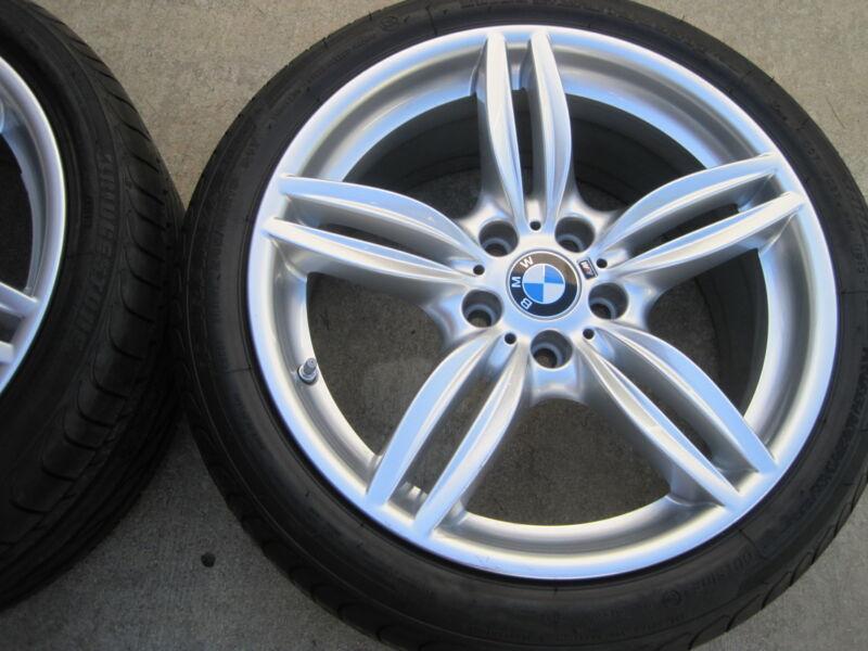 "19"" Brand New 2015 Bmw M5 M6 Oem Factory M-package Sport Wheels Tires Sensors."