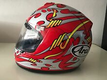 Arai Nicky Hayden World Championship Helmet St Kilda Port Phillip Preview