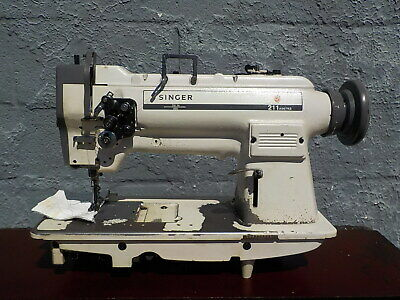 Industrial Sewing Machine Model Singer 211-967 Single Walking Foot- Leather