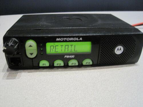 Motorola PM400 25W, 438-470 MHz UHF Mobile Two Way Radio AAM50RNF9AA3AN