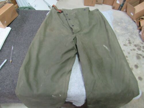 US Army Fire Firefighter Rescue Bunker pants 1956 originals turn Outs (FIR1)