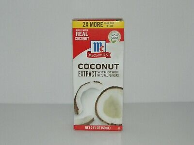 McCormick Coconut Extract With Other Natural Flavors 2 fl oz Other Natural Flavors