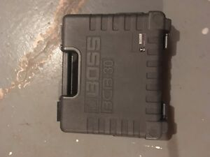 BOSS guitar pedal case for 3 boss pedals