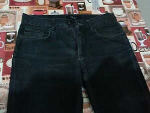 Lotto-120-Pantalone-uomo-jeans-nero-zara-man-tg-31-usa