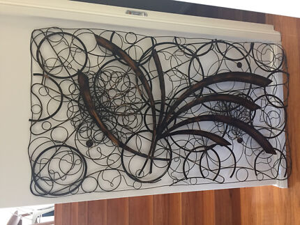 WALL ART METAL (Large) New Condition | Decorative Accessories ...