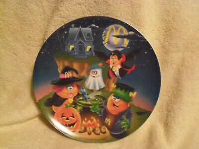 1995 Vintage McDonald's Halloween McNugget Buddies Collector Plate - NEW