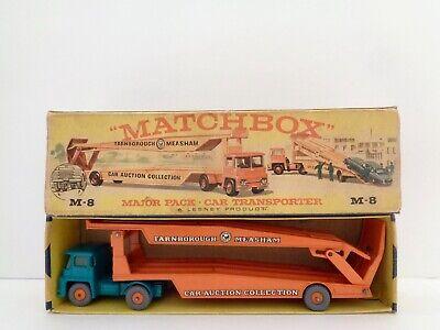 Lesney Matchbox MAJOR PACK M-8 'FARNBOROUGH-MEASHAM TRANSPORTER'----see photos &