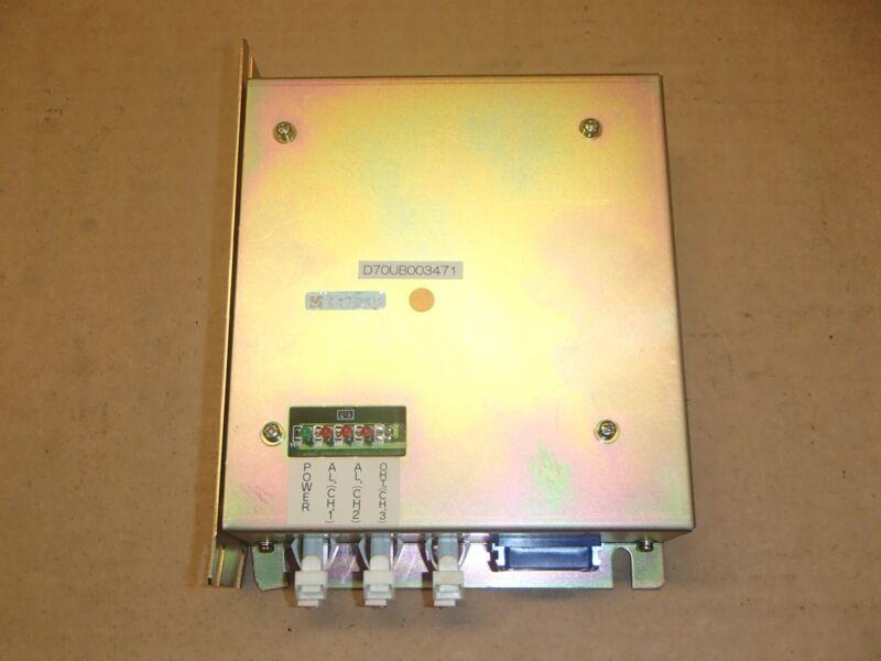 Mazak Mitsubishi D70ub003471 Power Supply Mazak Fjv-200