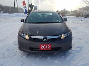 2012 Honda Civic Sdn LX !CERTIFIED!FINANCING!WARRANTY AVAILABLE!