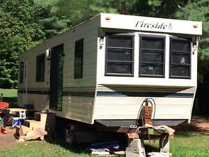 38 foot park model travel trailer