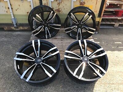 """19"""" BMW 3 4 5 SERIES ALLOY WHEELS M PERFORMANCE STYLE GTS CONCAVE E90 F30 F32"""