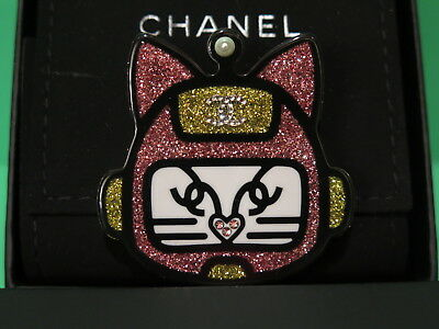 Chanel Robot Cat (Kitty) Pin Brooch Collection 17S