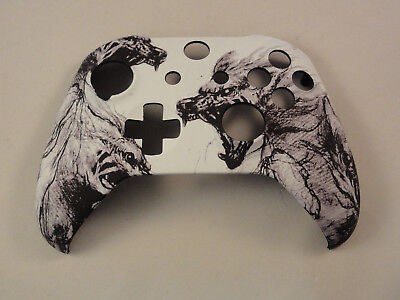 - Spirit of the Wolf Soft Touch Front Shell For Xbox One S Controller Model 1708