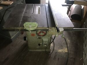 "10"" General Heavy Duty Table Saw"