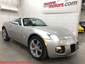 2007 Pontiac Solstice GXP Automatic Leather Chrome