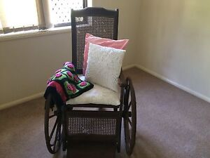 Antique wheelchair Wynnum West Brisbane South East Preview