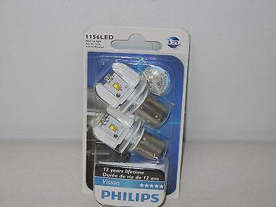 PHILIPS 1156 LED BACK UP LIGHT 2-PACK BRIGHT WHITE