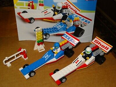 Lego 6591 Nitro Dragsters 100% complete vintage set with manual & part of box