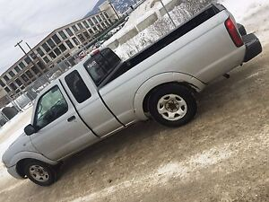 Nissan truck runs great $5900 or trade for car