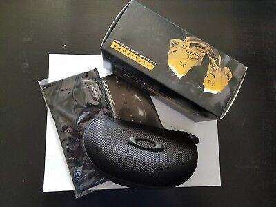 Brand new authentic Oakley Vault Sunglasses Hard Case Black .