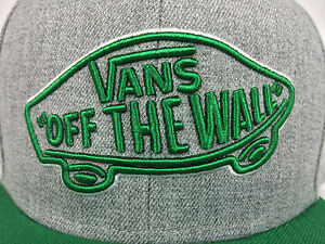 VANS. Authentic. Off the Wall. Men's SNAPBACK Hat. One Size. Various Colours.