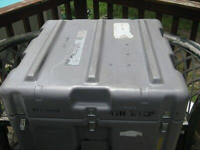 Hardigg Storage Container Shipping Carrying Case Gray