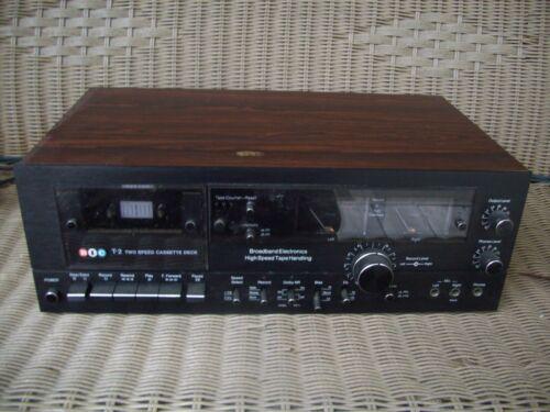 BIC T-2 Two Speed Vintage Cassette Deck