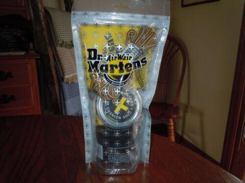 Dr. Martens Shoe Care Kit in a Bag NEW Wonder Balsam Dubbin Laces Duster Cloth