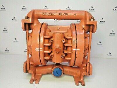 Wilden Pump 2 Pneumatic Double Diaphragm Pump - Tested Pump