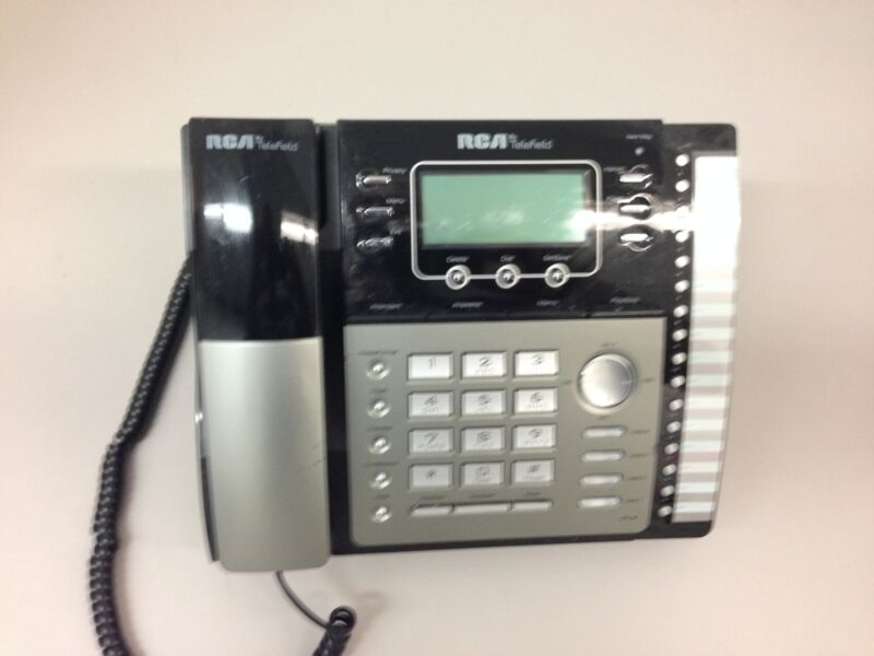RCA 25425RE1 4 LINE TELEFIELD BUSINESS PHONE With Handset