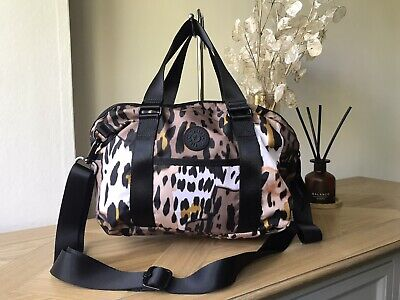 Kipling animal print medium handbag shoulder cross body bag