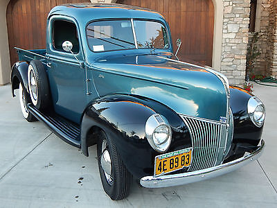 Costa Mesa Nissan >> 1940 Ford Pickup Truck W/ V8 & 3-speed On The Floor ...