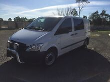 2013 Mercedes-Benz Vito Van/Minivan Melbourne CBD Melbourne City Preview