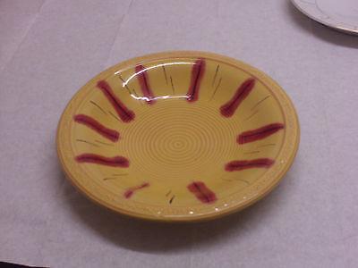 Obstteller, Schale 35 Jahre-gelb mit Muster