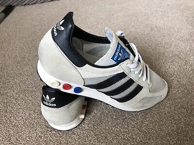 Adidas La Trainers Size 7 1/2 Very Good Condition