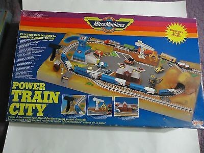 Vintage Micro Machines Power Train City - Galoob with Original Box