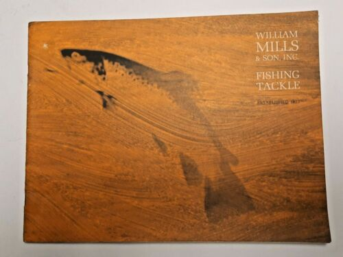 William Mills & Son, Inc. 1970 Fly Fishing Tackle Catalog from Ed Shenk