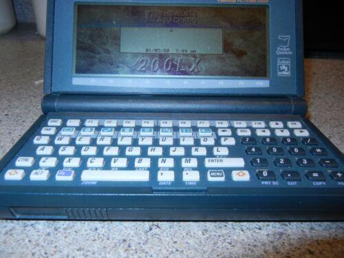 HP 200LX Palmtop Hewlett Packard 4MB