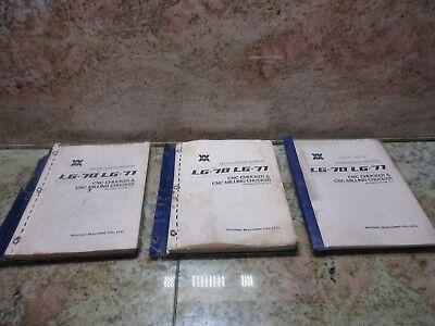 Wasino Lg-71 Lg-70 Cnc Chuckers Cnc Milling Chuckers Programming Manual