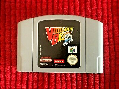 Vigilante 8 - 2nd Offense**Official N64 Game Cartridge Only**PAL Version
