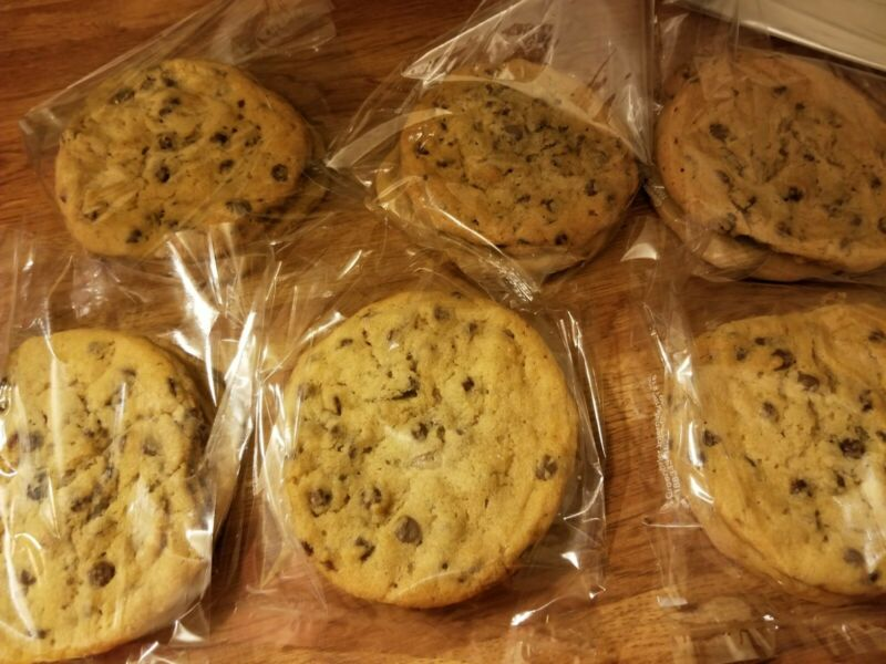 2 Dozen Homemade Chocolate chip (or buyer