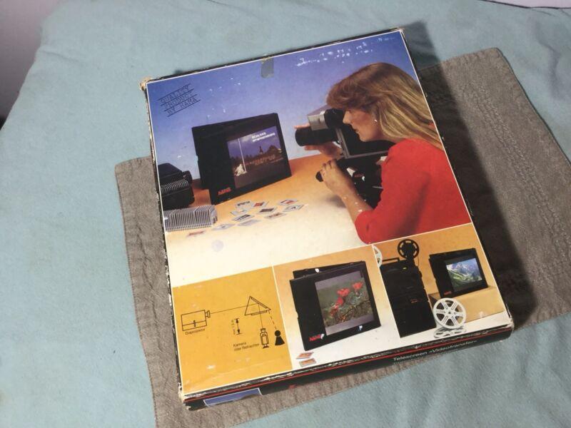 Hama 3012 New Telescreen Videotransfer Daylight Screen R-05239 - U.S. Ship