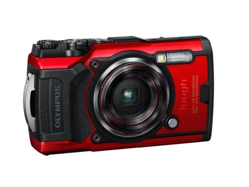 Olympus Tough TG-6 Waterproof Digital Camera - Red New