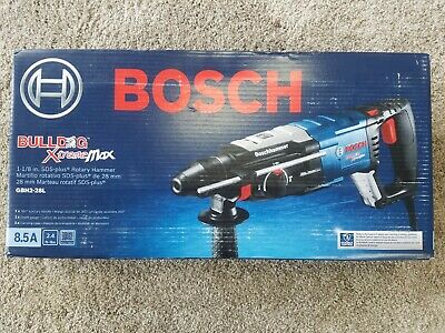 Bosch Bulldog Xtreme 1-18 In. 8.5 Amp Sds-plus Rotary Hammer - Gbh2-28l
