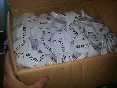 60 Dealer and 60 Hi/Lo and 60 KILL /NO KILL poker buttons. FREE SHIPPING