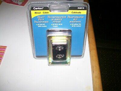 Carlon Dh915 Heavy Duty Electrical Wired Doorbell Chime Transformer 24v Ac 40va