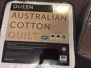 NEW target Queen Quilt rrp$80 Middle Park Brisbane South West Preview
