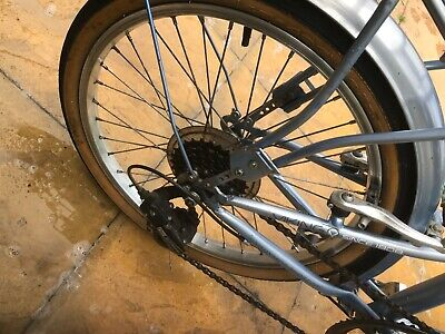 Two folding bikes hardly used good conditions pick up only